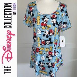 LulaRoe Disney Mickey Mouse Classic T Sm